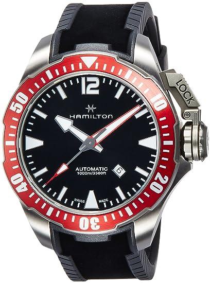 Hamilton Khaki Navy Frogman Auto H77805335
