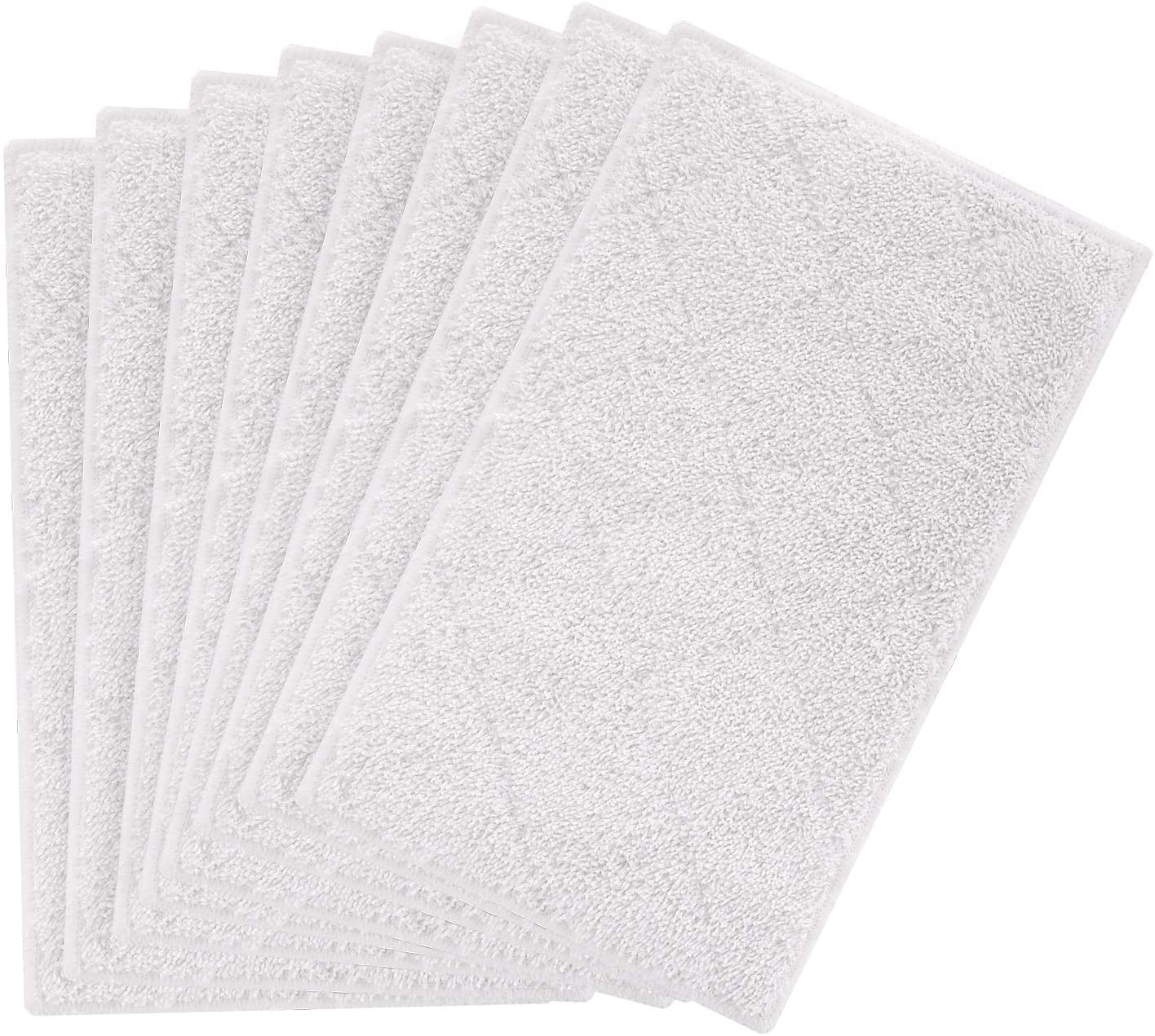 isinlive 8 Pack Cleaning Mop Pads Replacement Compatible Light n Easy Steam Mop Pads S3101 S7326 S3601 Floor Steam Cleaner