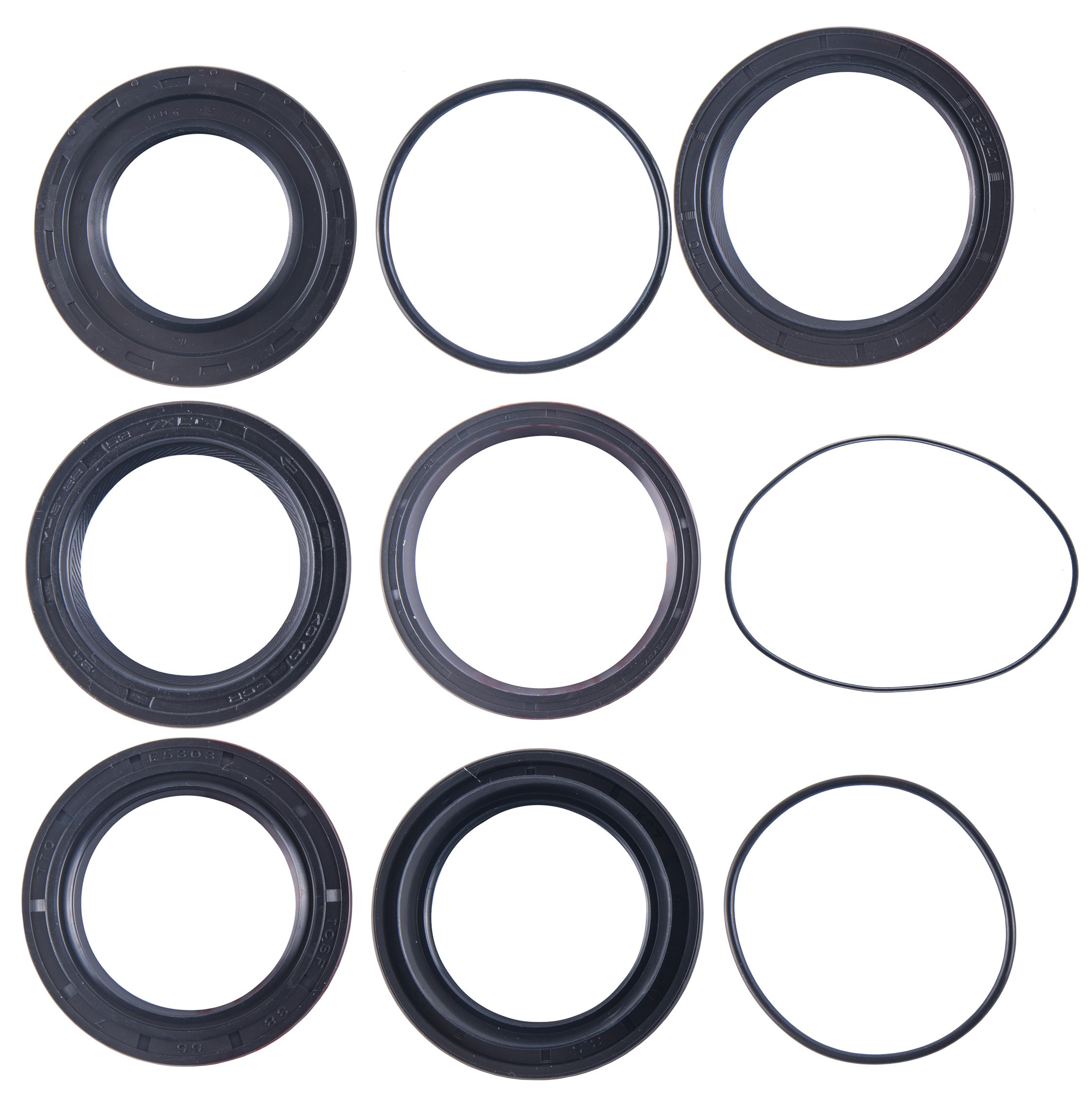 Yamaha rear differential seal kit 350 Wolverine 1995 1996 1997 1998 1999-2005 by East Lake Axle
