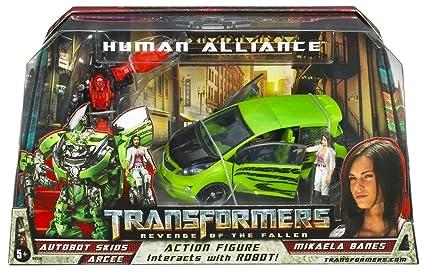 Amazon.com: Transformers Human Alliance – Autobot Skids con ...