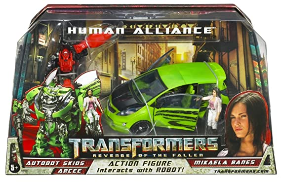 Transformers Human Alliance - Autobot Skids with Mikaela by ...