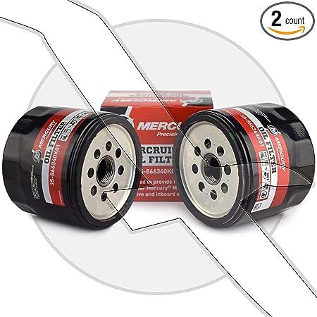 Mercury Marine 2-Pack Mercruiser Oil Filter 35-866340K01