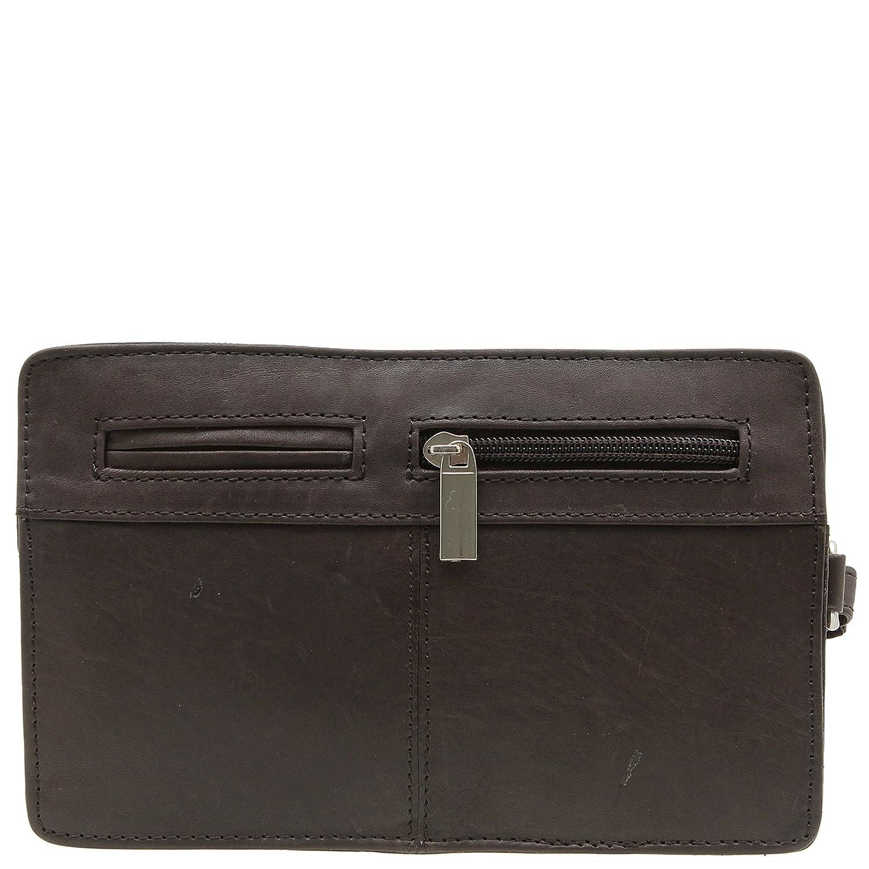 e61be2dd953e Jejo-bags® Pochette porté main à dragonne en cuir véritable Pour homme  3couleurs disponibles