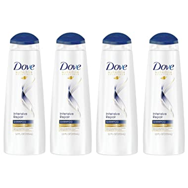 Dove Nutritive Solutions Shampoo, Intensive Repair 12 oz (Pack of 4)