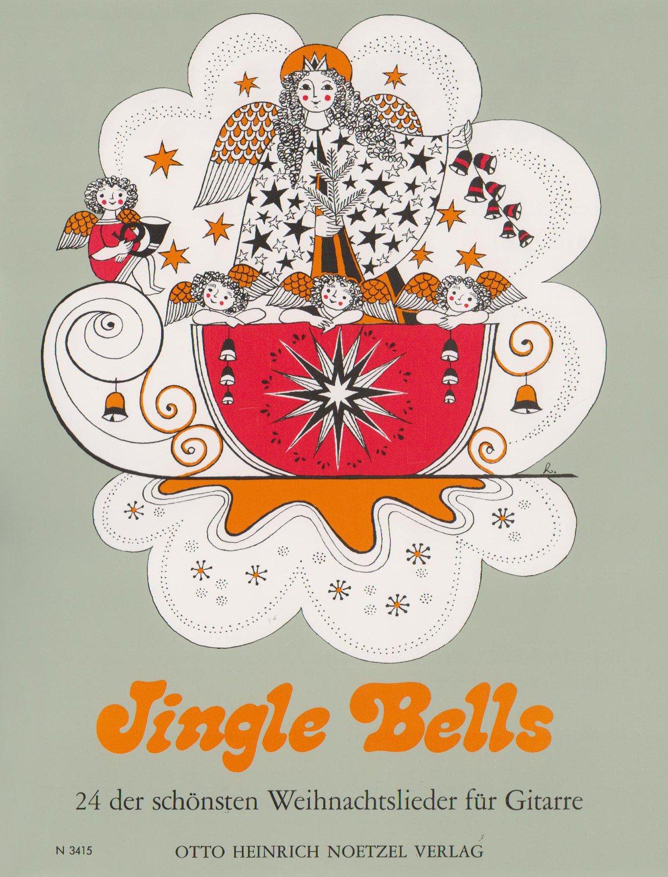 Jingle Bells. Gitarre