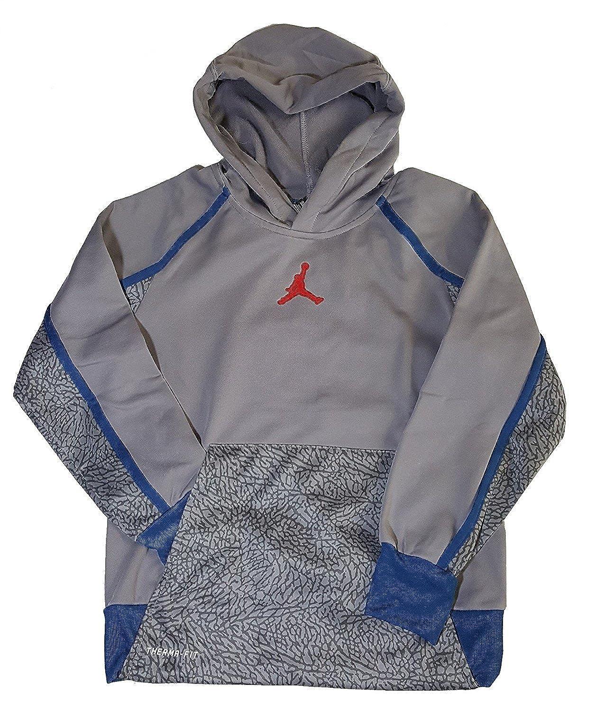 e70946129caf Nike Air Jordan Boys Jumpman Victory Therma-fit Pullover Hoodie NK-AJ- P