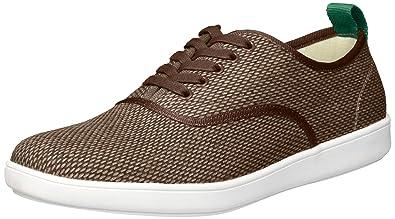 aea5a16f34e Steve Madden Men s FAUSTER Sneaker Taupe Fabric 7 ...