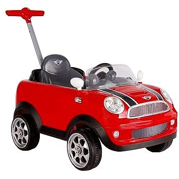 Gelb Für Kinder ab 1 Jah ROLLPLAY Push Car mit ausziehbarer Fußstütze