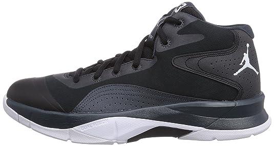 Nike Jordan Court Vision 00, Herren Basketballschuhe, Schwarz  (Black/White-Classic Charcl 004), 47.5 EU: Amazon.de: Schuhe & Handtaschen