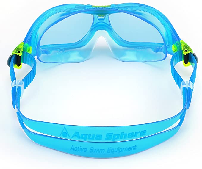 Color Azul Aqua Sphere Gafas de Buceo para ni/ño