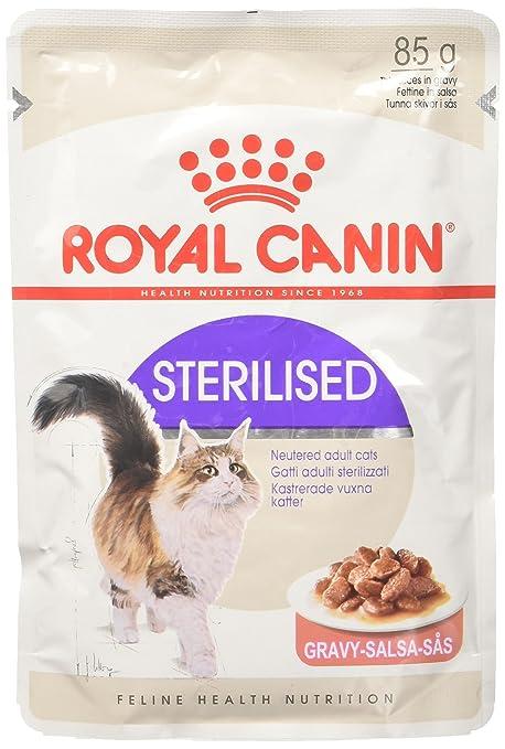 Royal Canin C-58387 Feline Sterilised Salsa - 85 gr