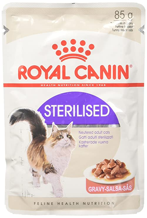 Royal Canin C-58387 Feline Sterilised Salsa - 85 gr: Amazon.es: Productos para mascotas
