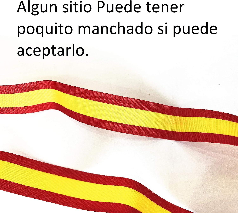 Durabol Cinta 2 Metro Bandera España Pulseras Lazos Pulsera Bandera Ancho 1 cm: Amazon.es: Hogar