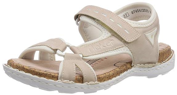 Rieker Damen 65479 Geschlossene Sandalen