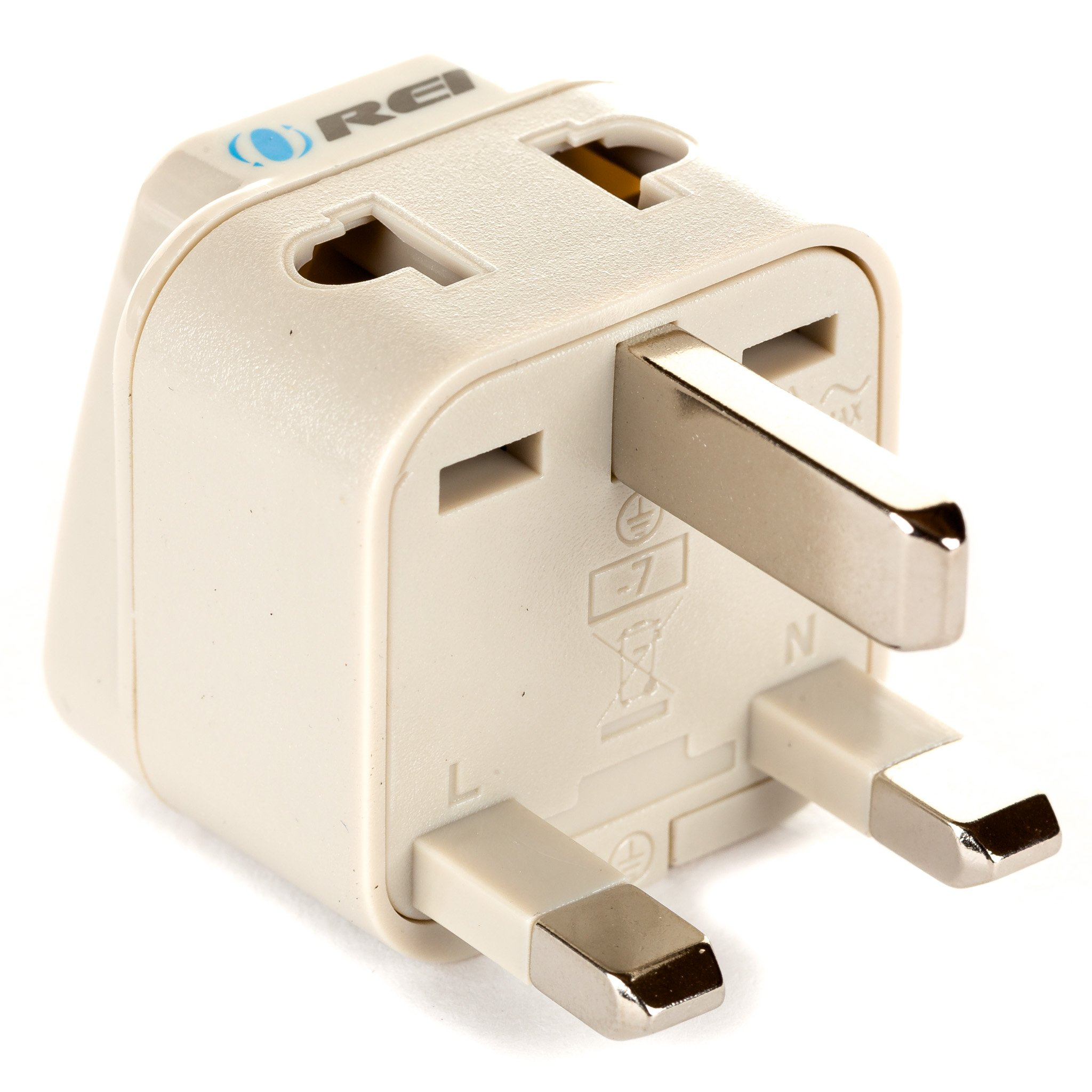 Best Rated In Power Converters Helpful Customer Reviews Standard Plug Wiring South Africa Orei Grounded Universal 2 1 Adapter Type G For Uk Hong Kong