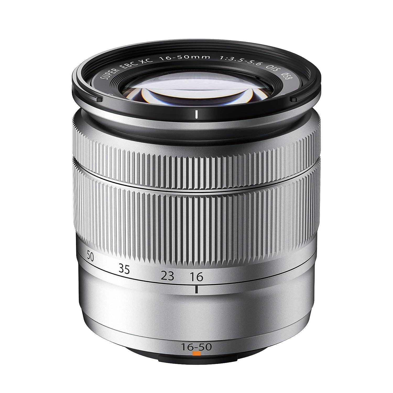 Fujifilm Fujinon XC  mm f: OIS Objetivo para Fujifilm X plata
