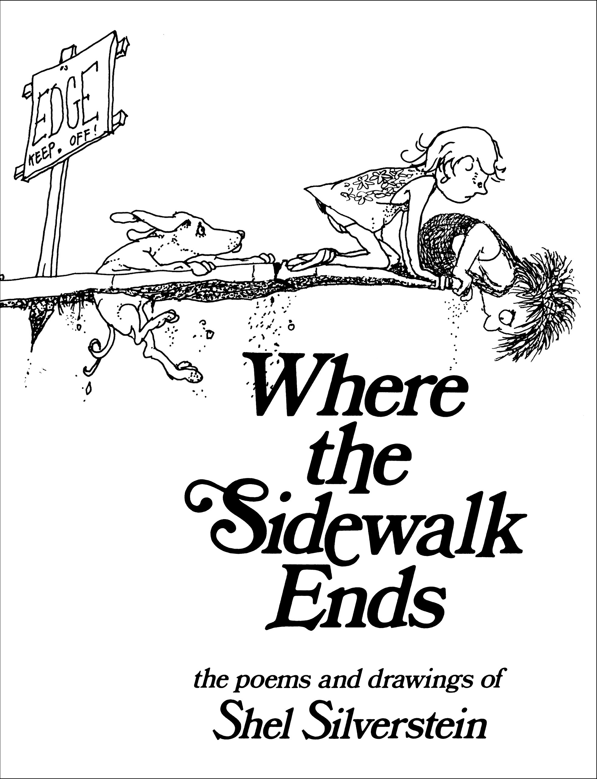 Image result for Where The Sidewalk Ends By Shel Silverstein
