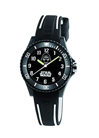 Image Unavailable. Image not available for. Color  Star Wars Darth Vader  Kid s Watch by AM PM SP190-K486 Black Rubber Strap e5d87e2abff