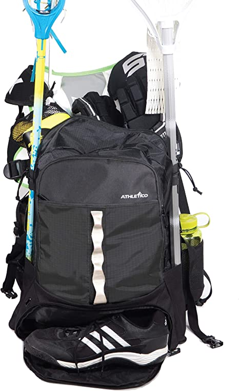 Athletico Lacrosse Bag - Extra Large Lacrosse Backpack