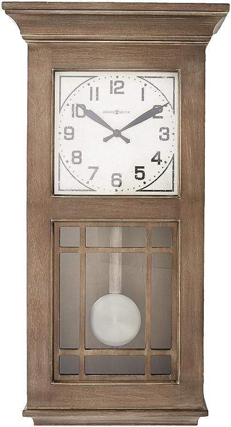 Amazon Com Howard Miller Wall Clock Wood Home Kitchen