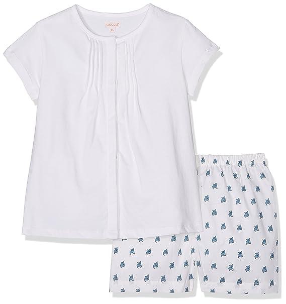 Gocco S73LTCCA501, Conjuntos de Pijama para Niñas, Azul, 1-2 años