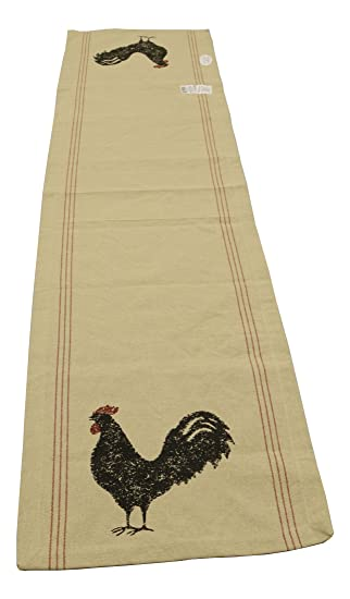 Hen Pecked Rooster Table Runner 13x54 Inches By Park Designs