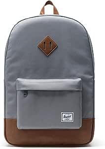 Herschel Unisex-Adult Heritage Backpack, Grey Synthetic - 10007