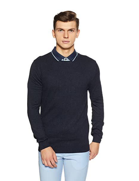 Pull Celio heather Fabricant taille Jestitch Small Homme Navy Bleu FfrvFnR