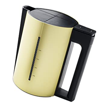 Jacob Jensen Designer Electric Kettle, 1.2 Litre, Gold