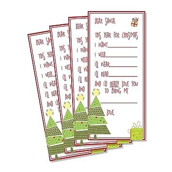Christmas Lists.Amazon Com Christmas Lists For Santa Secret Santa Game