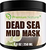Dead Sea Mud Mask 240ml, Melts Cellulite, Treats Acne and Problem Skin, Also Acts as Pore Minimizer and Wrinkle Reducer…