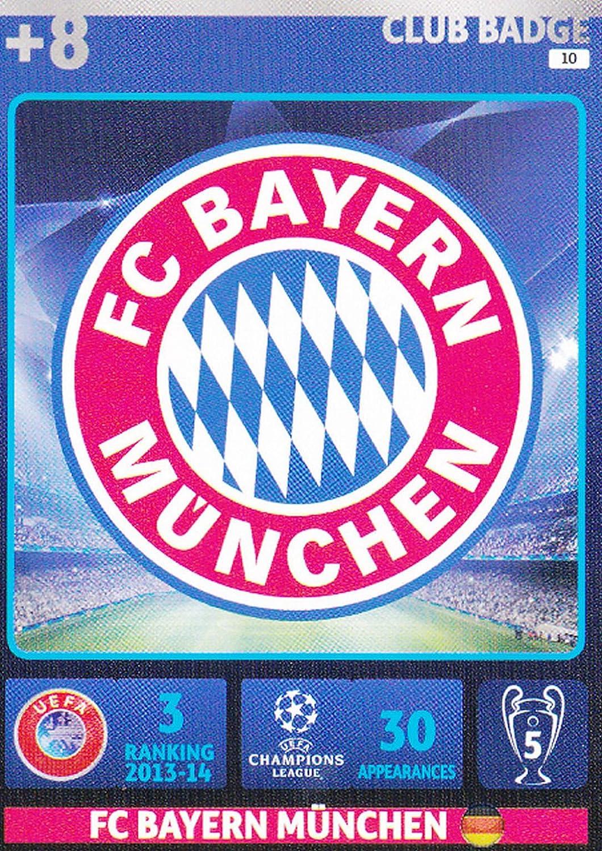 Panini bayern munich trading cards 14//15-1-fc bayern emblema