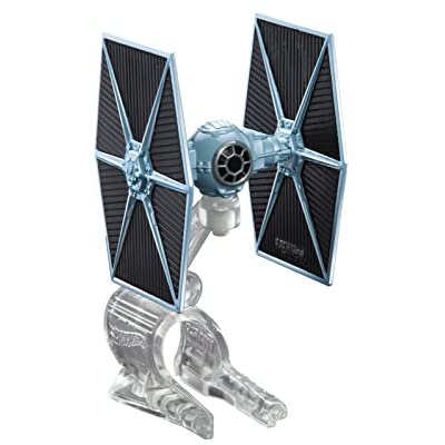 Hot Wheels Star Wars Starship Blue TIE Fighter Vehicle: Toys & Games