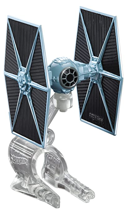 2ef242dcd7a5 Image Unavailable. Image not available for. Color: Hot Wheels Star Wars  Starship Blue TIE Fighter Vehicle