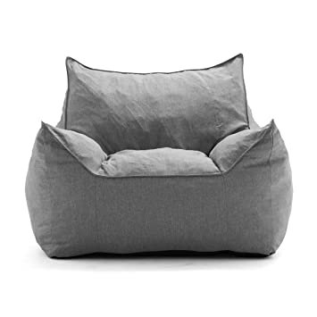 Admirable Big Joe Lux Imperial Lounger In Union Gray Alphanode Cool Chair Designs And Ideas Alphanodeonline