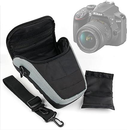 DURAGADGET Bandolera para Cámara Nikon D3400: Amazon.es: Electrónica