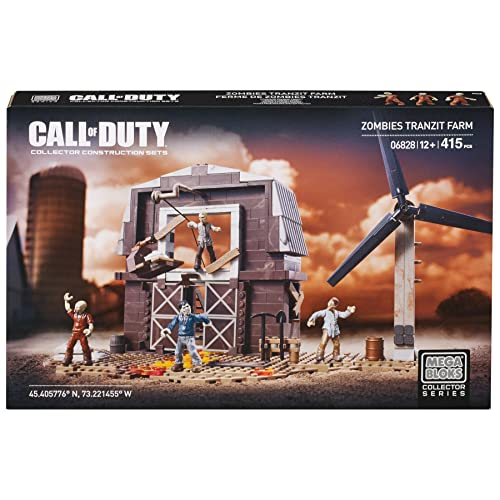 Mega Bloks Call of Duty Zombies Tranzit