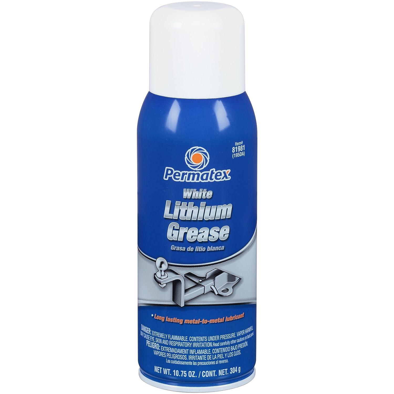Permatex 80345 White Lithium Grease, 1.5 oz.