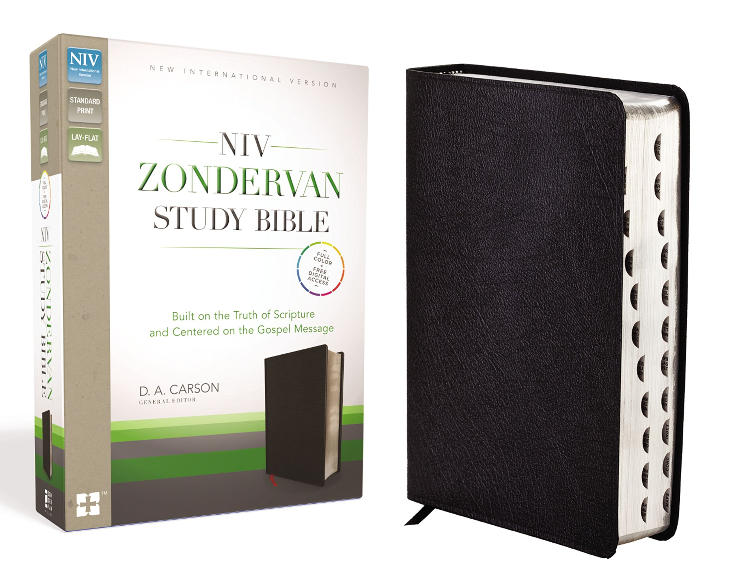 Study Bible-NIV: Amazon co uk: D A Carson, T Desmond Alexander