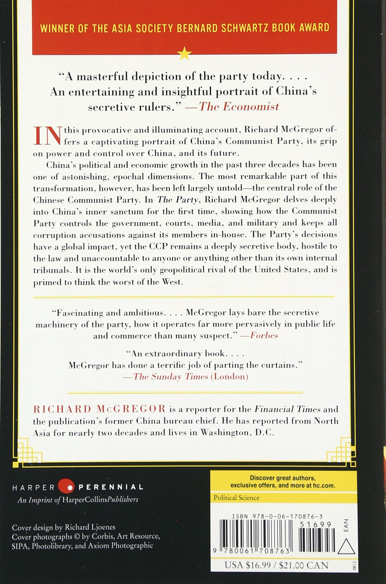 The Party: The Secret World of China\'s Communist Rulers: Richard ...