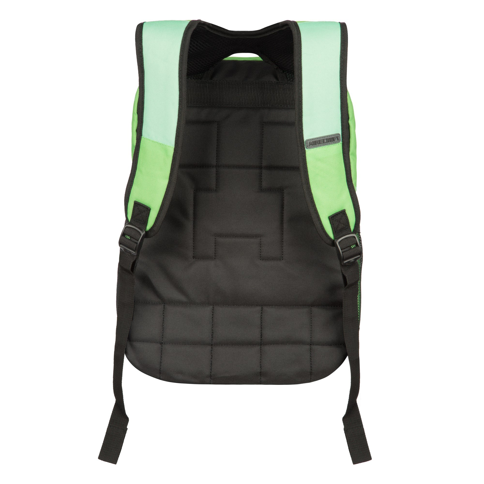 JINX Minecraft Creeper Kids Backpack (Green, 18'') for School, Camping, Travel, Outdoors & Fun by JINX (Image #4)
