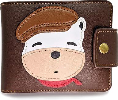 Pretty little pocketwallet in faux leather
