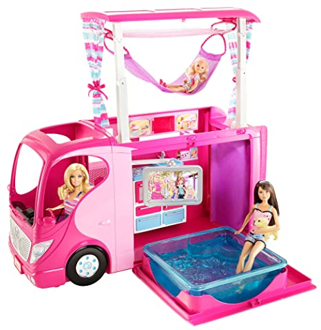 Buy Barbie Sisters Family Camper Online at Low Prices in India
