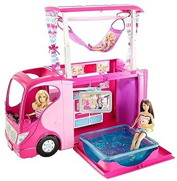 Mattel V6981 - Barbie, Camper incl. cucina, bagno, vasca ...