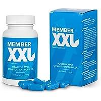MEMBER XXL prima potencia medicamentos & alargamiento del pene + 9cm, potencia y ayuda de erección para todos los…