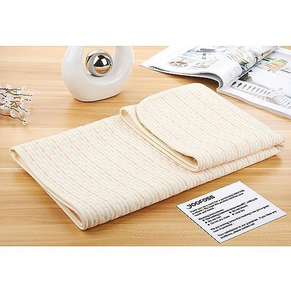 fostly cambio de pañales hoja resistente al agua hoja para cama bebé cambiador de pañales incontinencia, lavable Pad para bebé Niños Niños o Adultos: ...