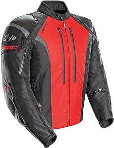 Joe Rocket Atomic Men's 5.0 Textile Motorcycle Jacket (Red, X-Large)