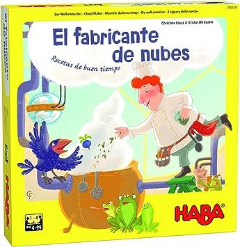 HABA-El Fabricante de Nubes-ESP Juego de Mesa (Habermass H305518): Amazon.es: Juguetes y juegos