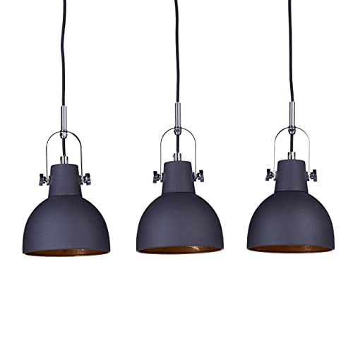 luminaire suspension design 3 ampoules. Black Bedroom Furniture Sets. Home Design Ideas