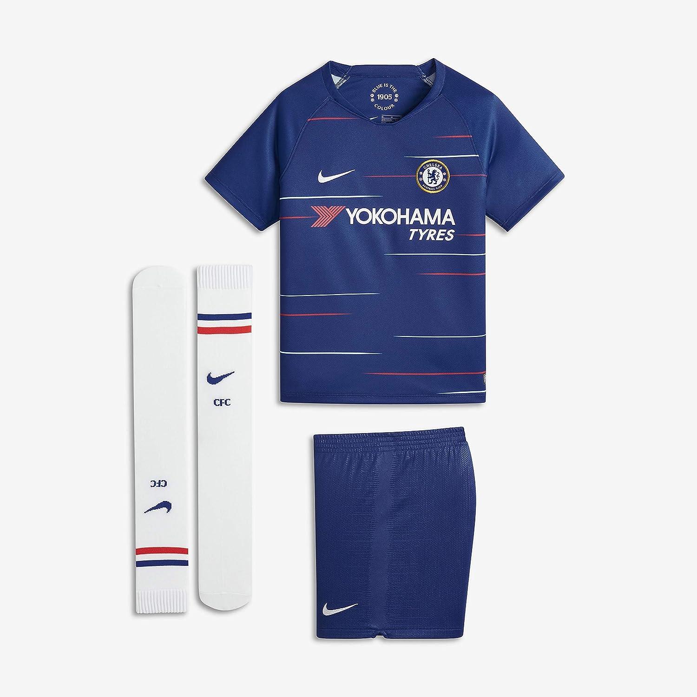 Nike 2018-2019 Chelsea Home Little Boys Mini Kit: Amazon.es ...
